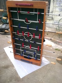 red and black foosball table San Francisco, 94134