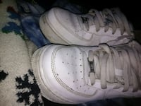 pair of white Nike Air Force 1 low Waco, 76711