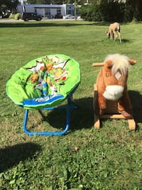 seat and rocking horse 2 for $15 Bay Shore, 11706