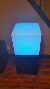 LED color changing light cube/table/seat