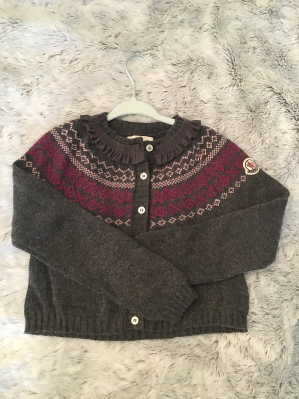 Genuine Moncler baby cardigan 18 months 3b5d335a-2d56-45c4-82e2-fc55daad3435
