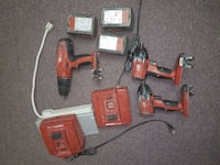Hilti impacts and hammer drill