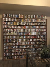Amazing Beer collection with custom wood shelving Las Vegas, 89135