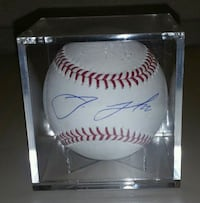 Jake Lamb autographed baseball El Mirage