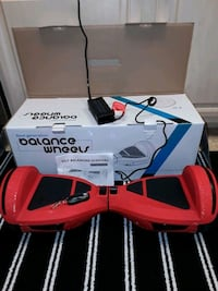 """Red HOVERBOARD, Exc. Condition, Bluetooth, 7.5"""" Wheels, more ... Las Vegas, 89118"""