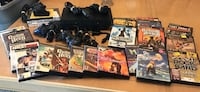 Sony PS3 console with controller and game cases Naples, 34105