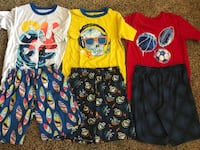 Boys Size Large 12/14 Pajama Pj Set - 6 pc - 83rd & K7, XP Lenexa, 66227