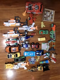 assorted die-cast car collection