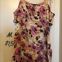 women's multicolored floral sleeveless dress Mississauga, L4Y