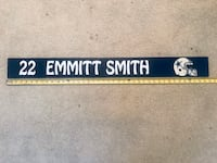 Dallas Cowboys E Smith Locker Room Nameplate  Virginia Beach, 23454