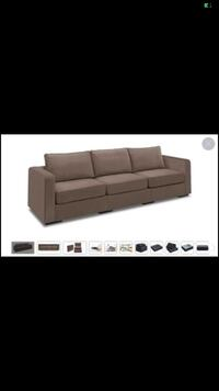 Lovesac couch 3 seater Jersey City, 07307
