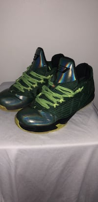 pair of black-and-green Nike basketball shoes Halifax, B3Z 2E9