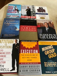 Business Books some signed Gaithersburg