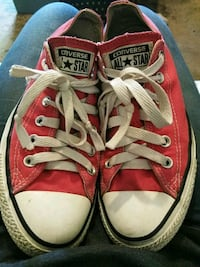 pair of red Converse All Star low-top sneakers Toccoa, 30577