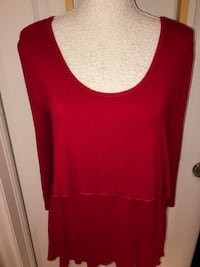 Size LARGE TOPS