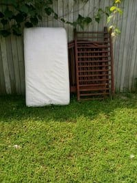 two white and gray mattresses Belleville, 62221