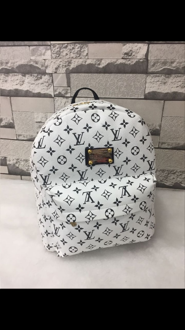 zaino Louis Vuitton Monogram in tela bianca
