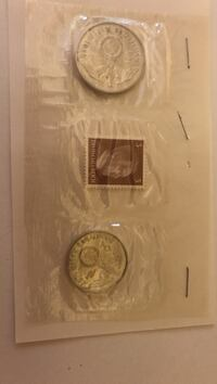 Nazi coins and Hitler stamp Bay Minette, 36507