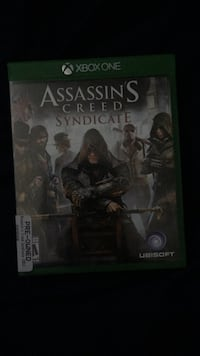 Assassin's Creed Syndicate Xbox One game case Albuquerque, 87121