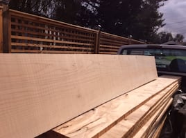 Wide Plank Character Maple Kiln Dried Planed Lumber
