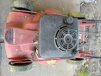 red and black push mower Milford, 45150