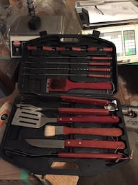 2 BBQ cleaning set - great condition  Coquitlam