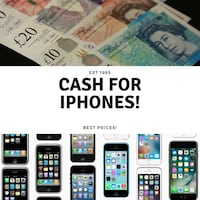Fast cash paid for iPhone or Samsung Smartphones London, N10 1RB
