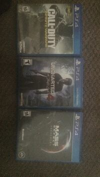 two Sony PS4 game cases Muskegon Heights, 49444