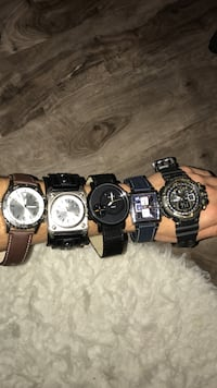 All real watches!