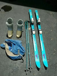 Skis, poles and boots. Columbus, 43221