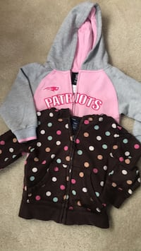 Girls Hoodie Patriots Sweatshirts Norwood, 02062