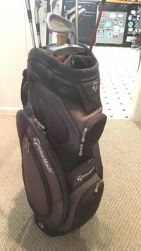 Taylor Made Golf Bag (with clubs )