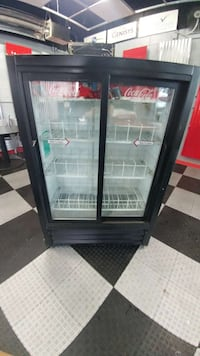 black beverage cooler