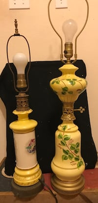 Vintage table lamps in great shape Denison, 75020