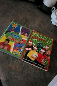 The wiggles Dvds 550 km