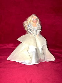 Silver dress Barbie with stand Las Vegas, 89129