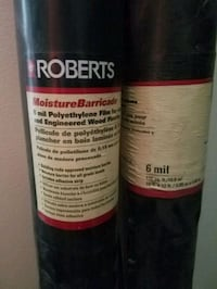 2 rolls of moisture barricade for flooring Fort Hood, 76544