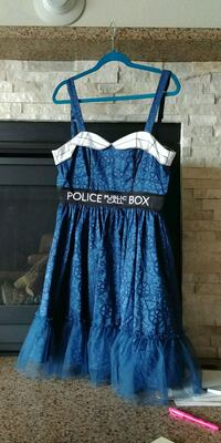 Doctor Who Hot Topic Dress Irvine, 92620