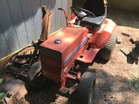 red and black Gravely riding mower Stafford, 22554