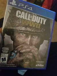 Call of Duty Ghosts PS4 game case
