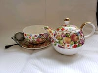 Teapot, cup and saucer Houston, 77042