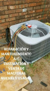 white outdoor condenser unit San Juan, 78589
