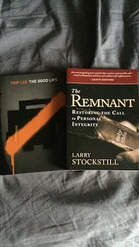 Brand new books: The Good Life and The Remnant 1032 mi