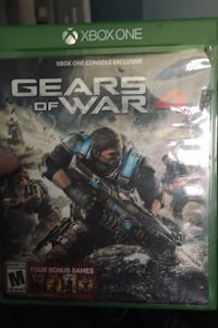 Xbox one gears of war four