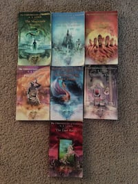 Cronicles of Narnia series 1-7