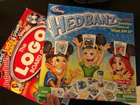 Board games LOGO & hedbandz Derwood, 20855