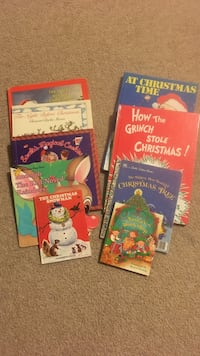 9 books about Christmas
