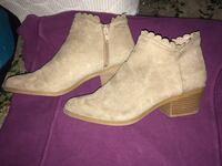 Size 8 just fab booties