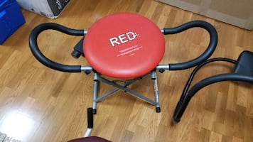 Red Fitness XL- Ab and core workout machine