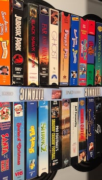 assorted VHS movies Regina, S4V
